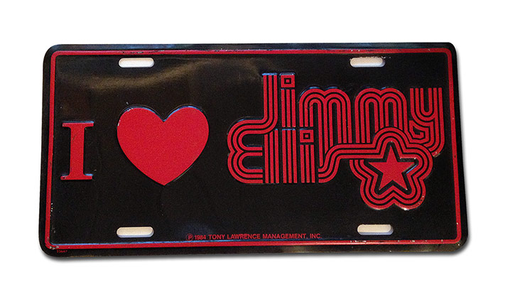 Jimmy Ellis Plate